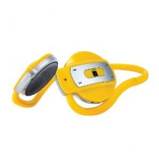 i-Ball Bluetooth Vibro Headset (Silver & Yellow) - BT02