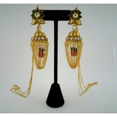 Gold Platted Alloy Earring Jhumar
