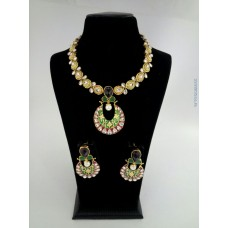 Alankruthi Antique Kundan Traditional Necklace