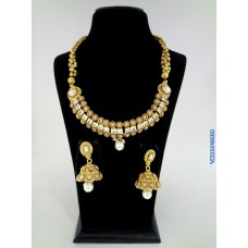 Alankruthi Antique Pearls Traditional Necklace