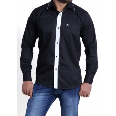 Men's Formal Shirt Black