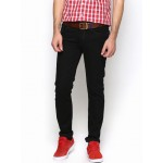 Lee Men Black Bruce Fit Jeans