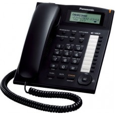 Panasonic Single Line KX-TS880MX Corded Phone (Black)
