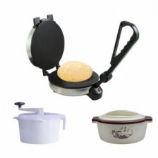 Roti Maker With Dough Maker + FREE CASSEROLE