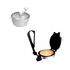Smart Products Roti Maker & Dough Maker Combo- Silver