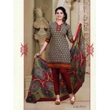 Mix Cotton Designer Salwar Suit Dupatta Material (Mix Color)